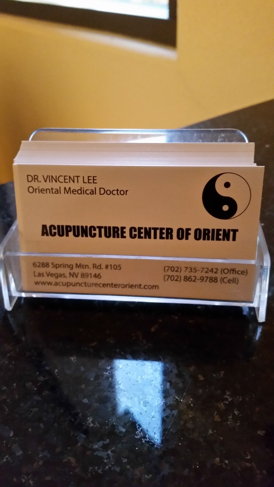 Acupuncture Center Of Orient