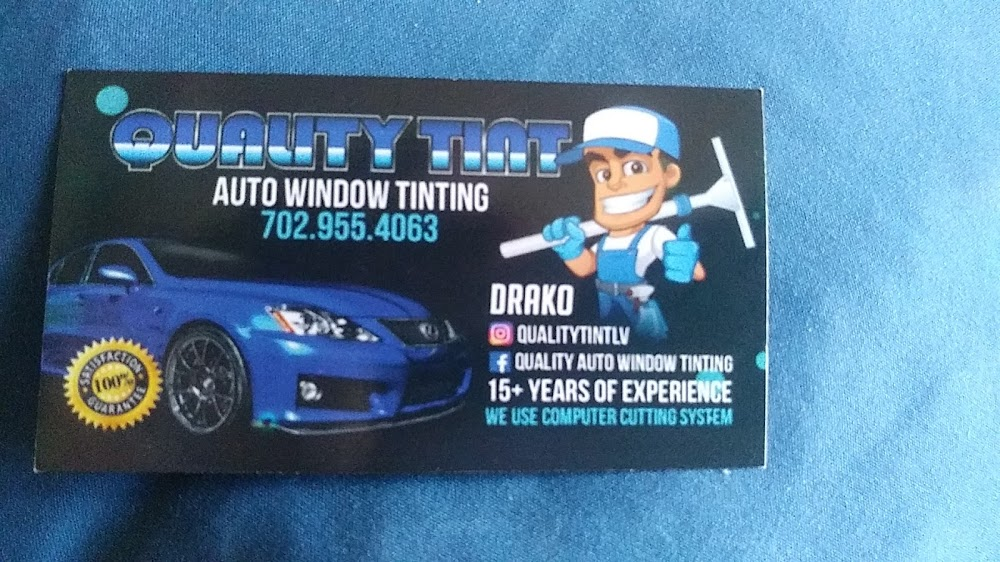 Quality Auto Window Tint